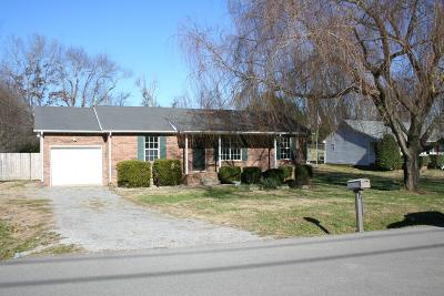 Christian County, Ky, Todd County, Ky, Montgomery County Single Family Home For Sale: 1009 Hot Shot Dr