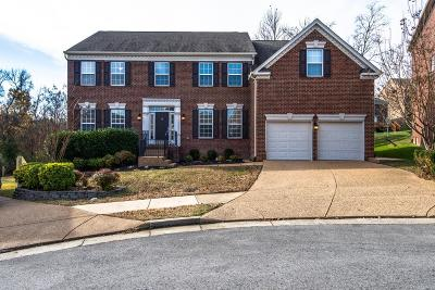 Nashville Single Family Home For Sale: 1412 Beech Hollow Ct