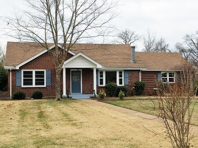 Goodlettsville Single Family Home Under Contract - Showing: 105 Draper Dr