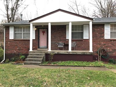 Davidson County Single Family Home For Sale: 2375 Una Antioch Pike