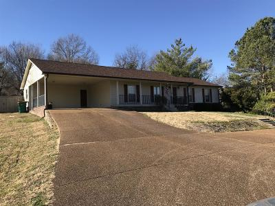Lewisburg Single Family Home For Sale: 1435 White Dr