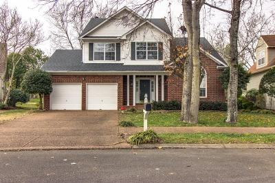Franklin Single Family Home For Sale: 152 Cavalcade Circle