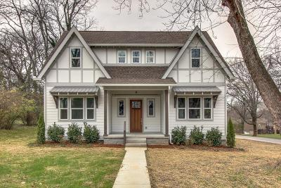 Nashville Single Family Home Under Contract - Showing: 3111 Oxford St