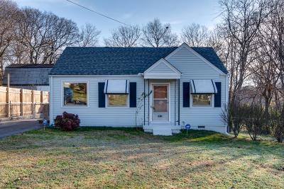 Nashville TN Single Family Home For Sale: $270,000