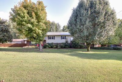 Mcewen Single Family Home Under Contract - Showing: 2793 Old Blacktop Rd