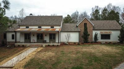 Williamson County Single Family Home For Sale: 5780 Greenbriar Rd