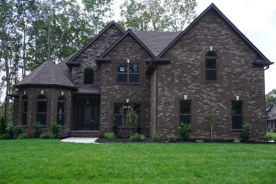Clarksville Single Family Home Under Contract - Showing: 86 Reda Estate Lot 86