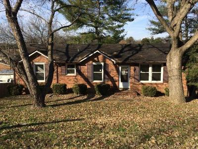 Davidson County Single Family Home Under Contract - Showing: 440 Cedar Valley Dr