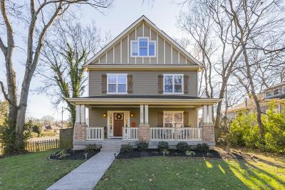 Nashville Single Family Home Under Contract - Showing: 1003 Montrose Ave