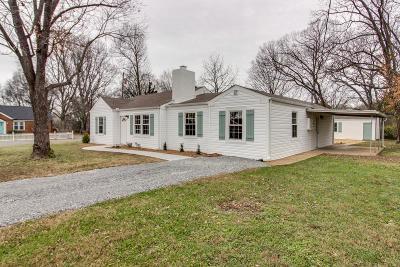 Nashville TN Single Family Home For Sale: $349,900