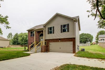 Clarksville Single Family Home For Sale: 759 Tylertown Rd