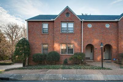 Nashville Condo/Townhouse For Sale: 247 Westchase Dr #247