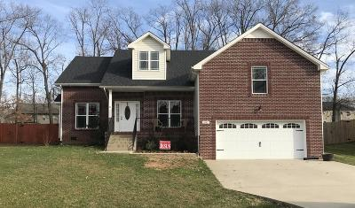 Clarksville Single Family Home For Sale: 1847 Deerstand Dr