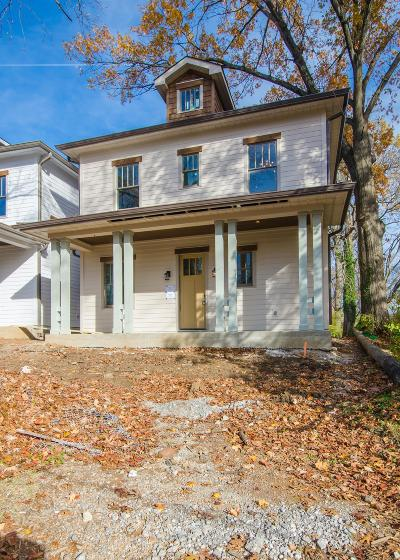 Nashville Single Family Home For Sale: 2118 #2 Elliott Avenue