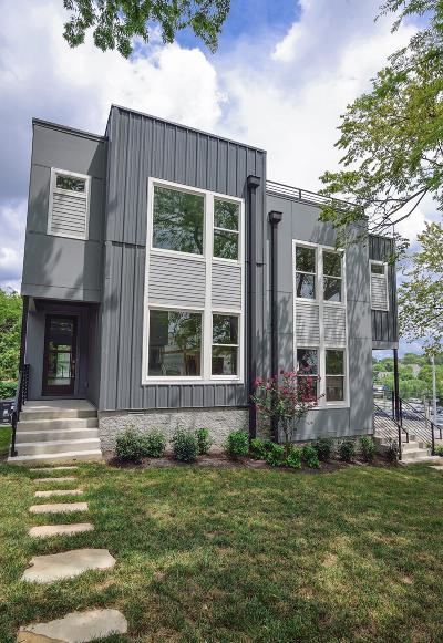 Nashville Single Family Home For Sale: 414 B 36th Ave N