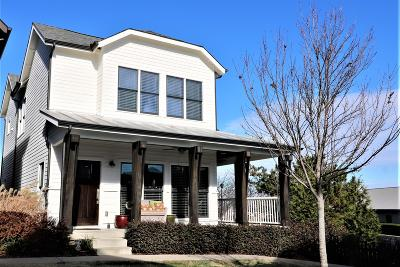 Nashville Single Family Home For Sale: 320 Artisan Ln
