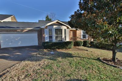 Williamson County Condo/Townhouse Under Contract - Showing: 1612 Rosewood Dr