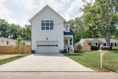 Nashville Single Family Home For Sale: 1027 Draughon