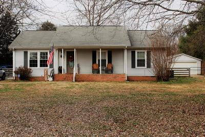 Single Family Home For Sale: 3942 Hord Rd