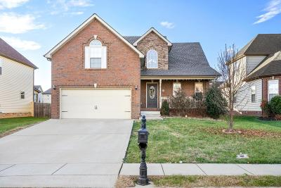 Clarksville TN Single Family Home For Sale: $209,900