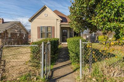 Nashville Single Family Home Under Contract - Showing: 2602 Scovel St