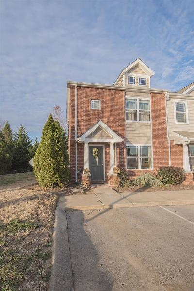 Spring Hill Condo/Townhouse For Sale: 1001 Wells Way