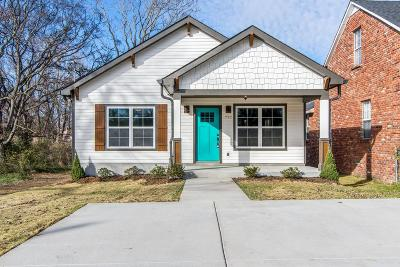 Nashville Single Family Home For Sale: 1722 Knowles St