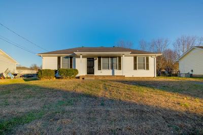 Clarksville Single Family Home For Sale: 583 Joshua Dr