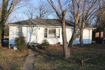 Lewisburg Single Family Home For Sale: 1552 Old Columbia Rd