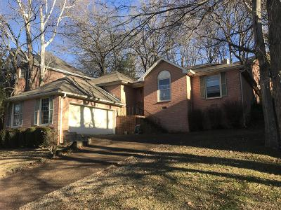 Nashville Single Family Home For Sale: 6512 Chessington Dr