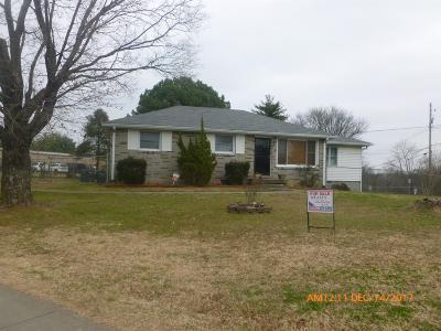 Nashville Single Family Home For Sale: 3800 Turley Dr