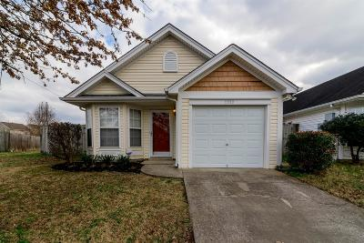 Nashville Single Family Home For Sale: 2550 Sonar St
