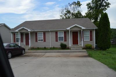 Clarksville TN Multi Family Home For Sale: $145,000