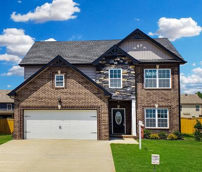 Clarksville Single Family Home Under Contract - Showing: 1750 Ellie Piper Circle