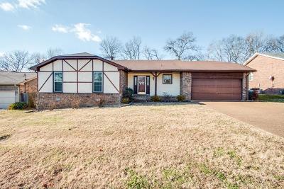 Hendersonville Single Family Home For Sale: 102 Eldorado Ct