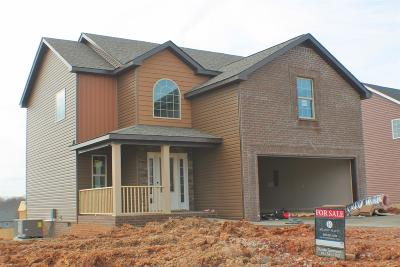 Clarksville TN Single Family Home For Sale: $194,500