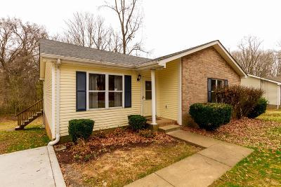 Clarksville TN Single Family Home For Sale: $108,000