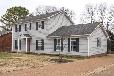 Davidson County Single Family Home For Sale: 3325 Timber Trail Dr