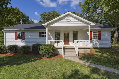 Ashland City Single Family Home Under Contract - Showing: 1038 Jane Ci