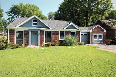 Nashville  Single Family Home For Sale: 1021 Maplewood Pl