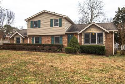 Davidson County Single Family Home Under Contract - Showing: 4397 Baton Rouge Dr