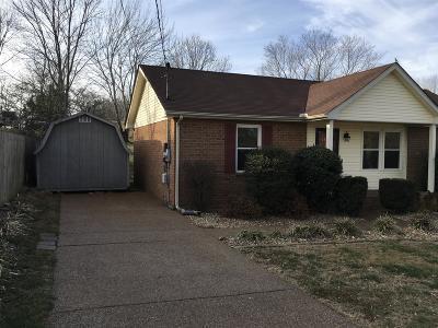 Brentwood, Franklin, Nashville, Nolensville, Old Hickory, Whites Creek, Burns, Charlotte, Dickson Single Family Home For Sale: 1505 Watercress