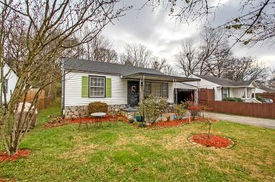 Nashville TN Single Family Home For Sale: $375,000