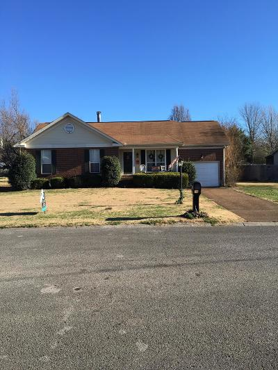 Single Family Home For Sale: 317 Chesterfield Cir