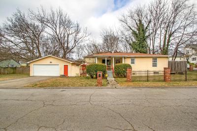 Nashville Single Family Home For Sale: 1419 Boscobel St