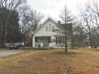 Christian County Single Family Home For Sale: 2506 Cox Mill Road