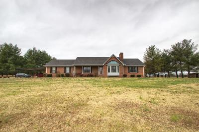 Lebanon Single Family Home Under Contract - Showing: 1240 McCrary Rd