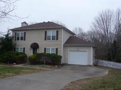 Clarksville Single Family Home For Sale: 743 Cloud Dr