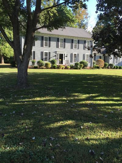 Hendersonville Single Family Home For Sale: 109 Skyview Dr