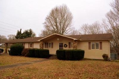 Christian County, Ky, Todd County, Ky, Montgomery County Single Family Home For Sale: 520 Peterson Ln
